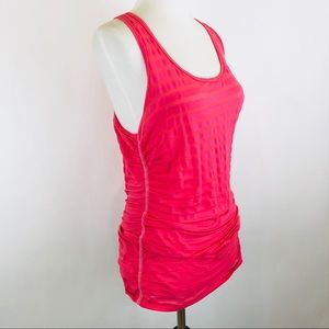 BeBe PH8 ruched tank top